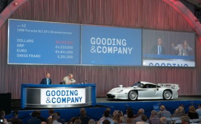 Gooding & Company Achieves More Than $30 Million in a Single Day at the Company's Amelia Island Auction