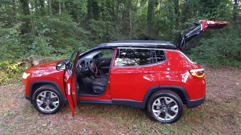 2017 Jeep Compass Limited 4x4 Exterior