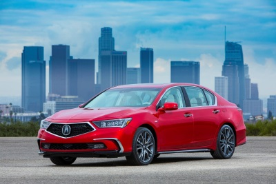2018 Acura RLX Arrives In Showrooms With Striking Redesign
