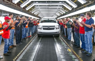11 Million Strong - 2018 Chevrolet Tahoe RST Is 11 Millionth Vehicle Built At GM's Arlington Assembly