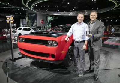 High-Performance Drivetrain In 2018 Dodge Challenger SRT Demon Wins Roadshow Driveline Technology Of The Year Award