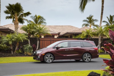 2018 Honda Odyssey Cabinwatch™ Wins '2017 Best Of What's New' Award From Popular Science Magazine
