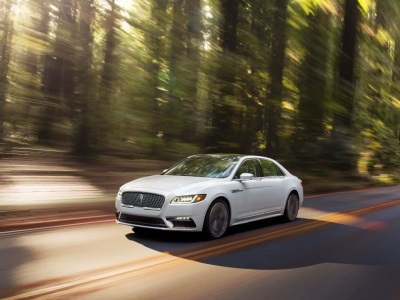 2018 Lincoln Continental Earns IIHS Top Safety Pick+ Rating