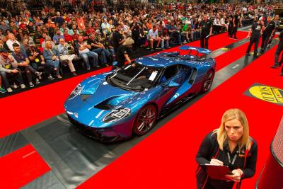 $30 Million In Overall Sales Realized At Mecum Dallas 2018