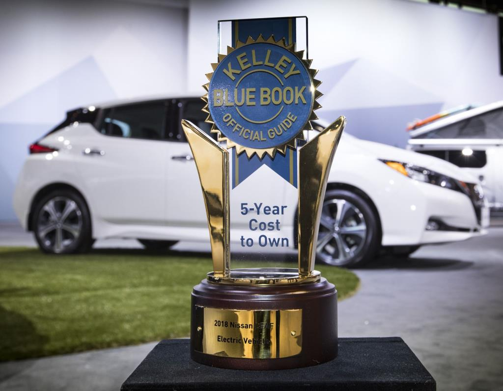 All-New 2018 Nissan Leaf Receives \'Lowest Cost To Own Award\' From ...