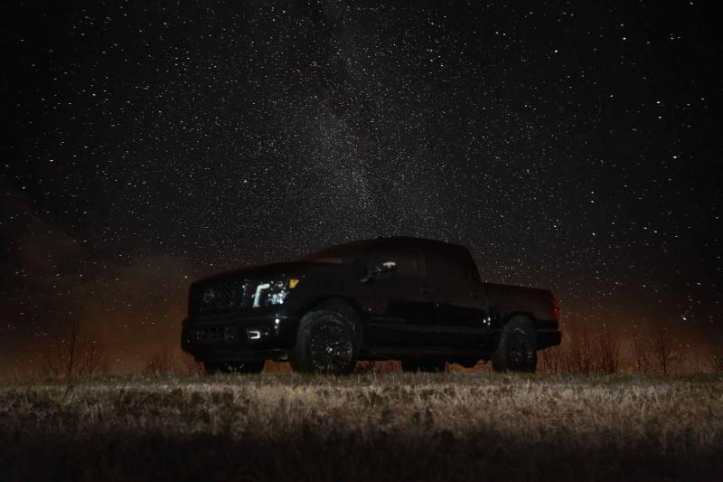 Nissan Celebrates Darkest Day Of The Year With Release Of 2018 Titan And Titan XD Midnight Editions