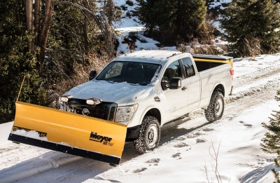 2018 Nissan Titan XD Will Be Winter-Ready With New Snow Plow Prep Package
