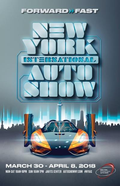 New York Auto Show Debuts Poster Art
