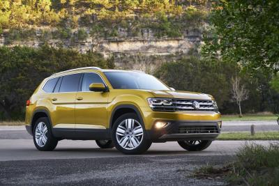 2018 Volkswagen Atlas Earns A 'Good' Rating In IIHS Passenger Side Small Overlap Test