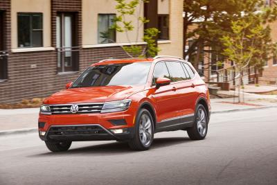 2018 Volkswagen Tiguan Leads Compact Segment In J.D. Power Tech Experience Index Study