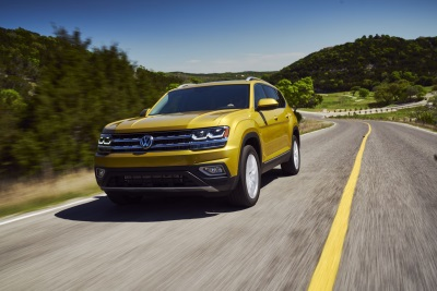 2018 Atlas Receives NHTSA 5-Star Safety Rating