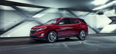 ALL-NEW 2018 CHEVROLET EQUINOX MAKES AUTO SHOW DEBUT