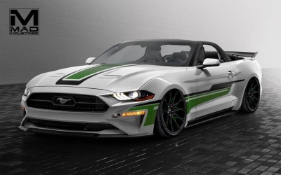 The Magnificent Seven: Ford To Showcase Specialty Mustangs At 2017 SEMA Show