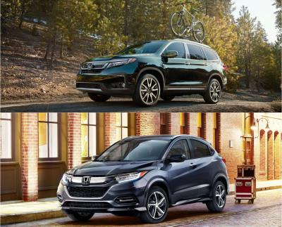 Refreshed 2019 Pilot And HR-V To Further Strengthen Award-Winning Honda SUV Lineup