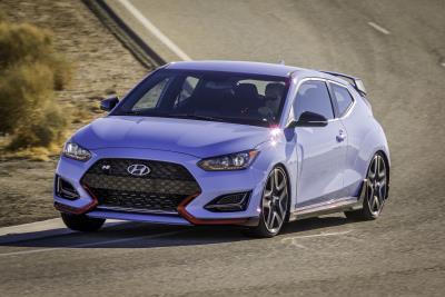 Hyundai Introduces 2019 Veloster N, First U.S. Market N-Brand High-Performance Model, At German Nurburgring