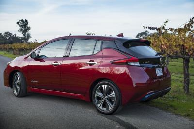 Nissan Announces U.S. Pricing For 2019 Leaf