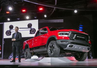 All-New 2019 Ram 1500 Wins Cars.Com 'Best Of Show' Award At The 2018 North American International Auto Show
