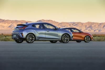 Hyundai Introduces All-New 2019 Veloster And Veloster Turbo