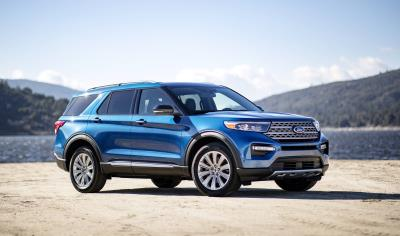 Extend Your Adventure: All-New Ford Explorer Limited Hybrid RWD Has An EPA-Estimated Range Of Over 500 Miles Per Tank