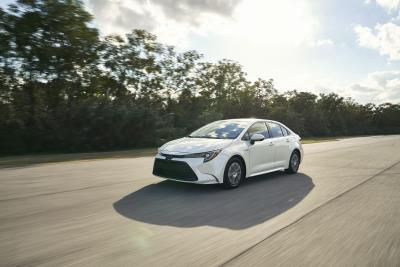 Electrifying Design Meets Electrified Power In First-Ever Corolla Hybrid