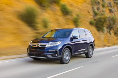 2021 Honda Pilot Adds New Special Edition, Standard 9-Speed Automatic Transmission
