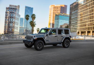 2021 Jeep Wrangler 4Xe Named Green SUV Of The Year By Green Car Journal