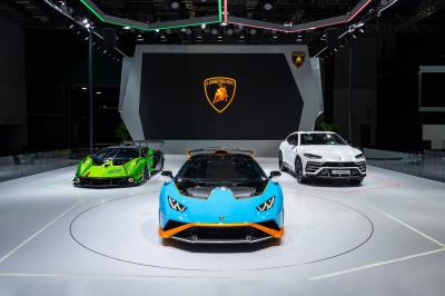 Three premieres for Automobili Lamborghini at the 2021 Shanghai Auto Show