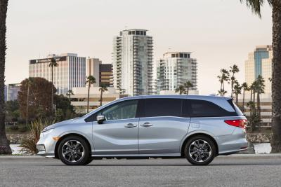 2021 Honda Odyssey: America's Most Popular Minivan Gets A Makeover Including An Industry-First Rear Seat Reminder With Integrated Camera