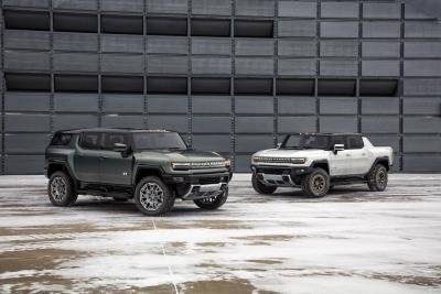 2024 GMC HUMMER EV SUV Debuts during March Madness