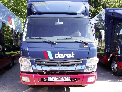 22 Fuso Canter Eco Hybrids for Deret Transport
