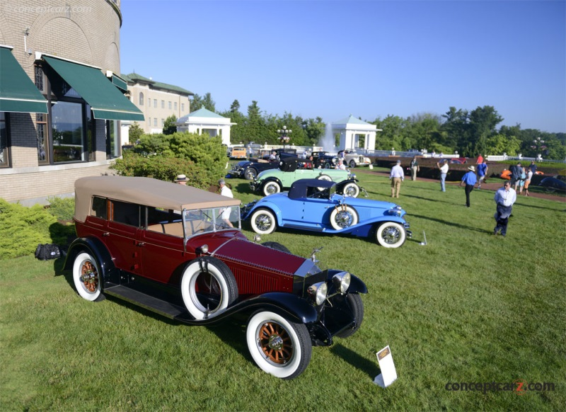 1925 Locomobile 48-9 Convertible Sedan by Derham