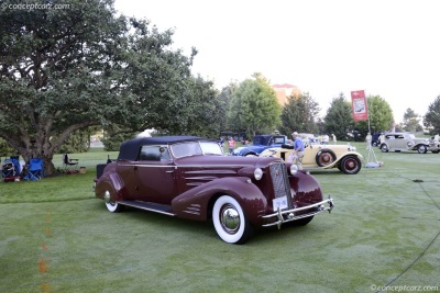 Infiniti Of Hilton Head >> 1934 Cadillac Victoria Convertible Coupe Wins 'Best of Show'