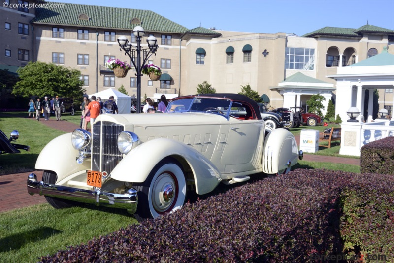 1934 Packard 1106 Twelve Runabout Speedster