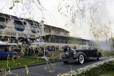 63rd Pebble Beach Concours d'Elegance Names 1934 Packard  'Best of Show'