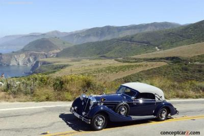 1937 Horch 853 Sport Cabriolet Named Best Of Show During Petersen Concours d'Elegance