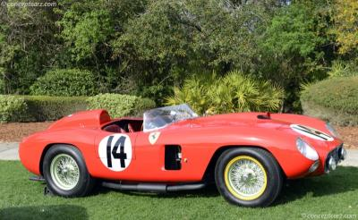 Ferrari 290 MM Sells for $22 Million at RM Sotheby's Petersen Automotive Museum Sale