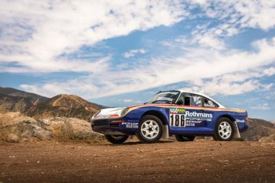 First 959 Paris-Dakar Ever Offered for Public Sale set for RM Sotheby's Porsche 70th Anniversary Auction