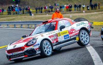 Abarth 124 Rally On Podium: Nucita-Vozzo Third Overall In Rally Zelezniki In Slovenia