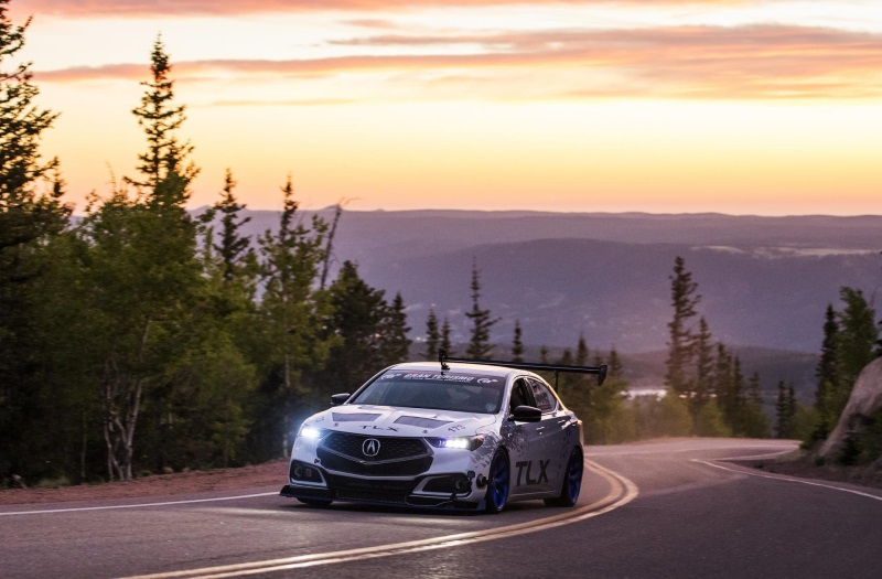 Pikes Peak Hill Climb 2017 >> Acura Entries Secure Top Qualifying Positions For 2017 Pikes