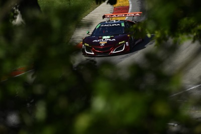 Tough Day For Acura, Michael Shank Racing At Road America