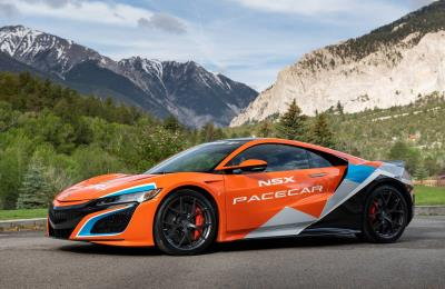 Acura NSX Sets The Pace At Pikes Peak; Driven By Six-Time Champion David Donner