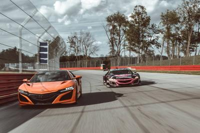 Road Car Vs. Race Car: Acura Pits NSX Supercar Against Racing Counterpart, The Nsx GT3 Evo