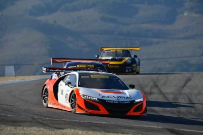 Acura NSX GT3s Complete First International Endurance Event