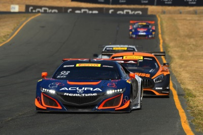 Acura NSX GT3s Wrap 2017 Season With Pair Of Top-10S In Sonoma