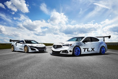 Acura NSX And TLX To Race Up Pikes Peak; New TLX A-Spec Makes Racing Debut