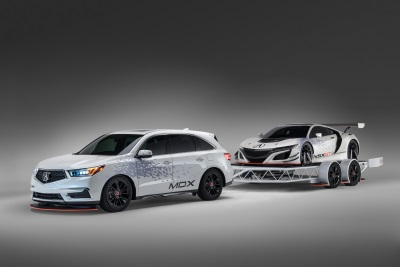 ACURA SHOWCASES PERFORMANCE & RACING SPIRIT AT SEMA