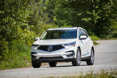 2019-2020 Acura RDX Tops Motor Trend's Safest Luxury SUVs Of 2019 List