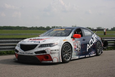 ACURA TLX GT RACE CAR TO DEBUT AT MID-OHIO