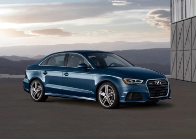2017 Audi A3 models now available with more efficient 2.0-liter TFSI® engine