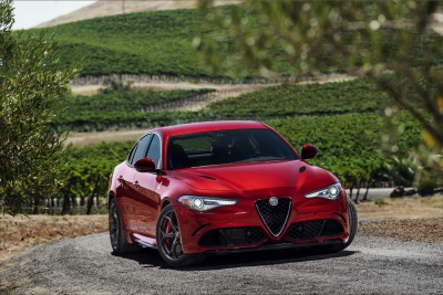 2017 Alfa Romeo Giulia Quadrifoglio Named Best 'Luxury Performance Car' Of 2017 By New York Daily News Autos Team